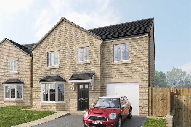 Thumbnail 4 bed detached house for sale in Woburn, White House Farm, Holdsworth Road, Holmfield, Halifax