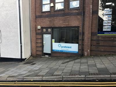 Thumbnail Office to let in Ground Floor, 4A, Market Street, Caerphilly