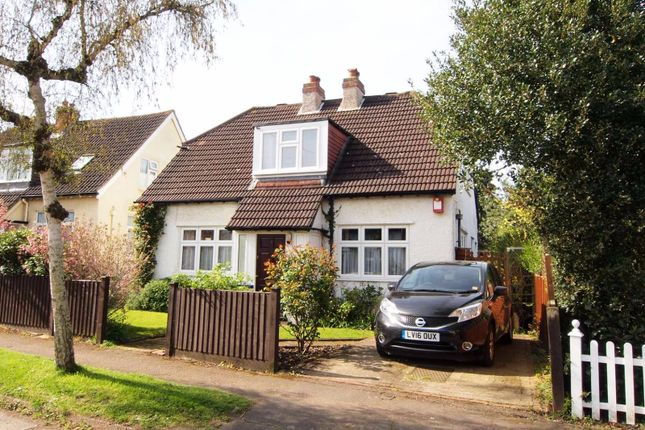Thumbnail Detached house for sale in The Rise, Ewell Village