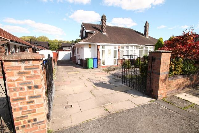 Thumbnail Semi-detached bungalow to rent in Redburn Road, Manchester