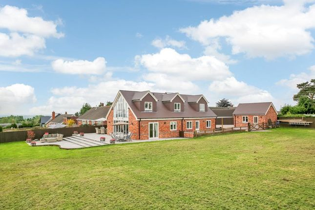 Thumbnail Detached house for sale in Moat Bank, Bretby, Burton-On-Trent