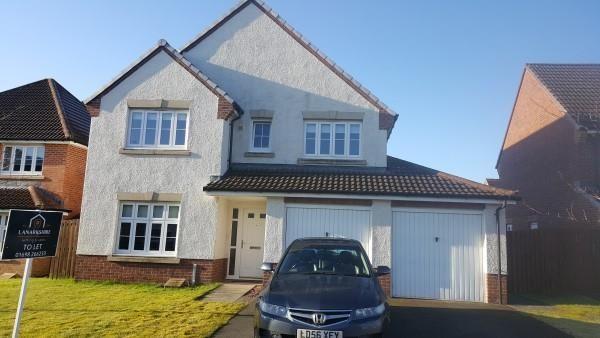 Thumbnail Detached house to rent in Glen Lyon Walk, Motherwell