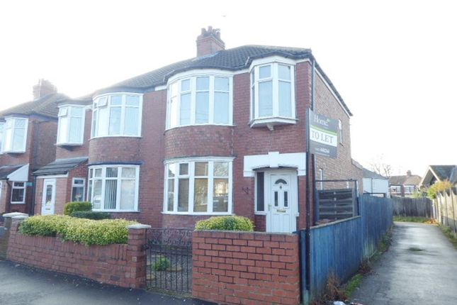 Thumbnail Property to rent in Windsor Road, Hull