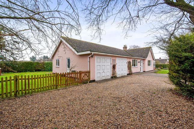 Thumbnail Detached bungalow for sale in The Close, Roydon, Diss