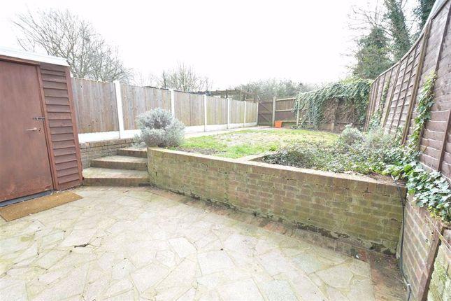 Rear Garden of Malyons Close, Pitsea, Essex SS13