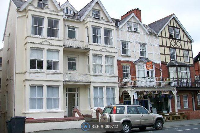 Thumbnail Flat to rent in High Street, Llandrindod Wells