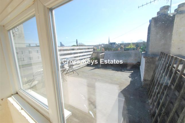 Roof Terrace of Wilton Street, Stoke, Plymouth PL1