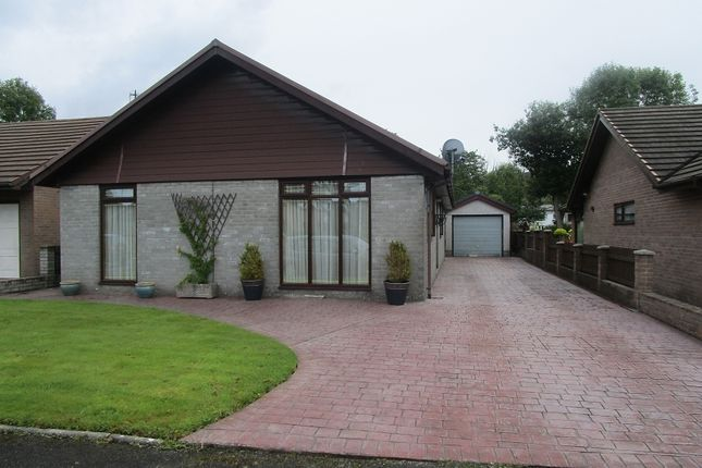 Thumbnail Detached bungalow for sale in Tawe Park, Ystradgynlais, Swansea.