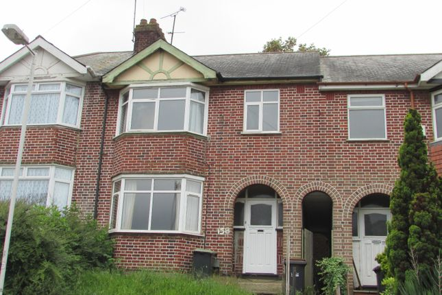 Thumbnail Terraced house to rent in Cowper Street, Luton, Bedfordshire