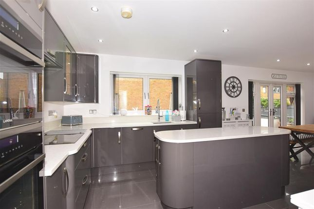 Detached house for sale in The Fort, Rochester, Kent