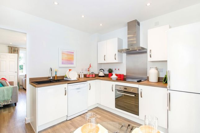 "Thumbnail Terraced house for sale in ""The Hindhead"" at Pinn Hill, Pinhoe, Exeter"