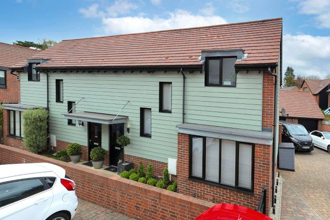 2 bed semi-detached house for sale in Bluegown Avenue, Leybourne, West Malling ME19