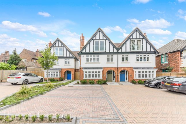 Thumbnail Semi-detached house for sale in Reigate Road, Ewell, Epsom
