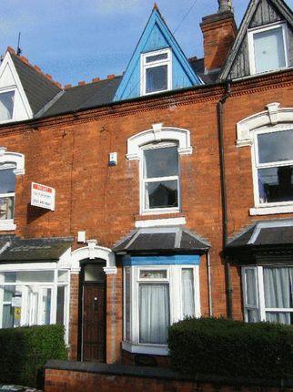 Thumbnail Terraced house to rent in Harrow Road, Selly Oak