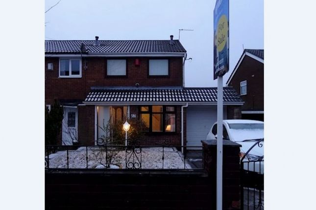 Thumbnail Semi-detached house for sale in Wem Grove, Newcastle, Staffordshire