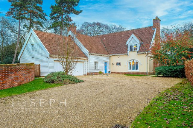 Thumbnail Detached house for sale in Grosvenor Close, Ipswich