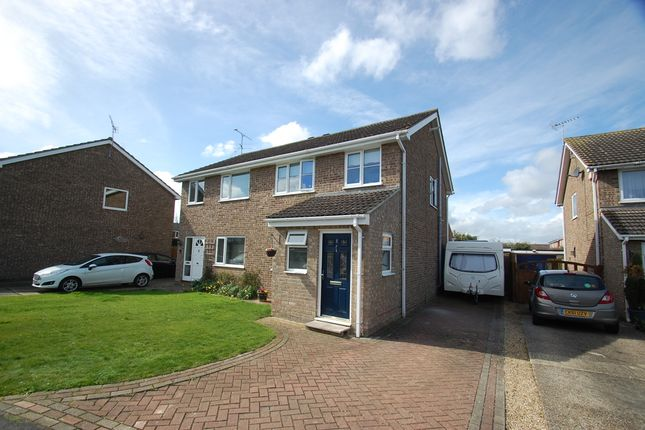 Thumbnail Semi-detached house for sale in Mandeville Road, Marks Tey, Colchester