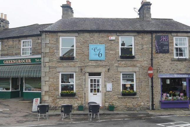 Thumbnail Restaurant/cafe for sale in Cafe No.6, 6 Market Place, Corbridge