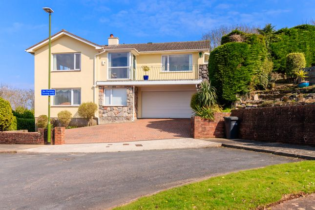 Thumbnail Detached house for sale in Bishops Rise, Torquay