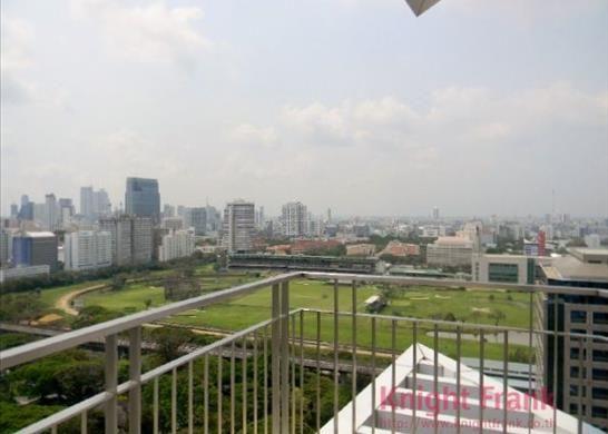 Luxury Condominium At The Prestigious Location In Rajdamri With Nice View Of The Royal Sport Club