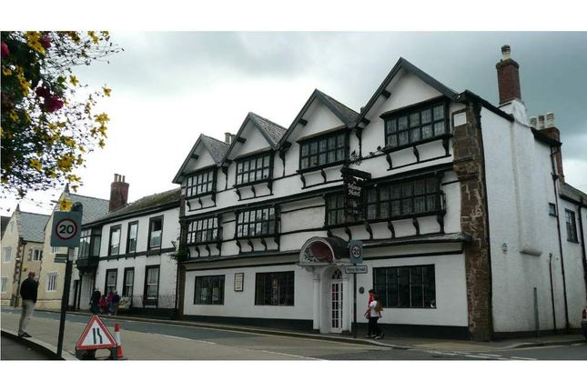 Thumbnail Hotel/guest house for sale in Manor House Hotel, Cullompton