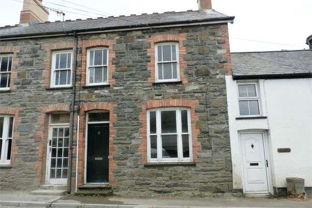 Thumbnail Terraced house for sale in Abergwesyn Road, Tregaron, Ceredigion