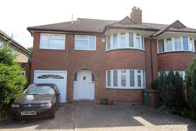 Thumbnail Semi-detached house for sale in Tabor Gardens, Cheam, Sutton