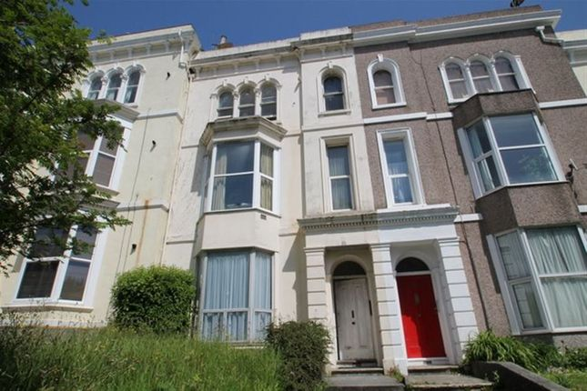 Thumbnail Flat to rent in Woodland Terrace, Greenbank, Plymouth