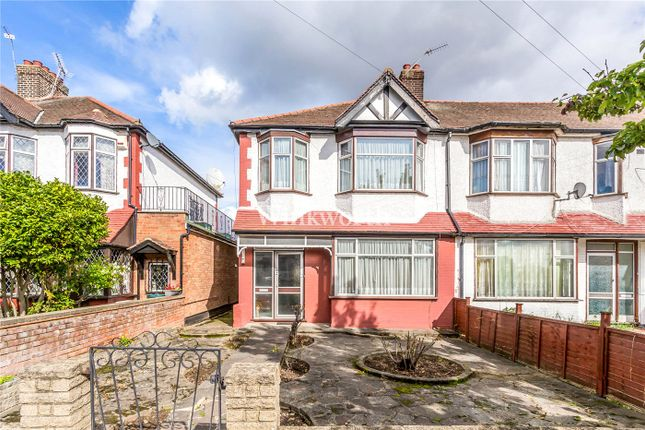 Thumbnail End terrace house for sale in Dorchester Avenue, London
