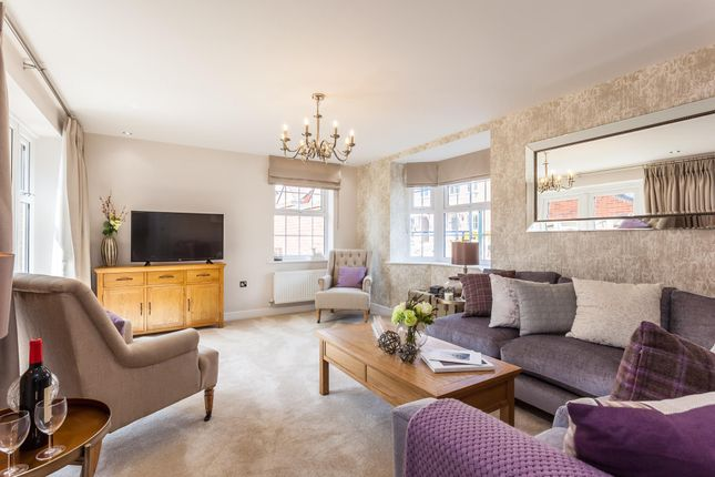 """Thumbnail Detached house for sale in """"Layton"""" at The Walk, Withington, Hereford"""