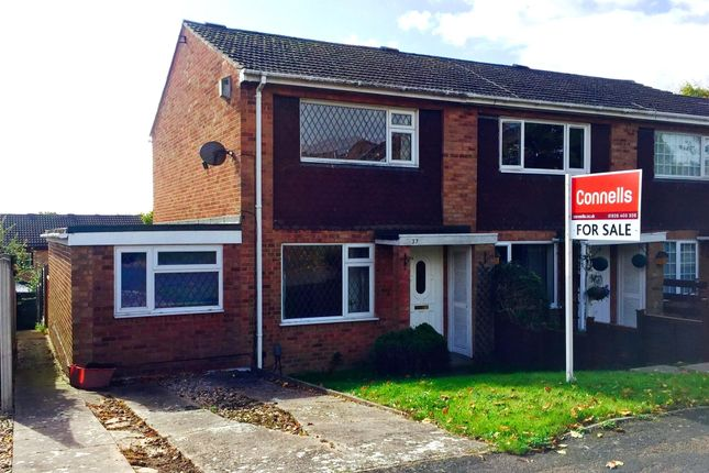 Thumbnail End terrace house for sale in Crane Close, Warwick