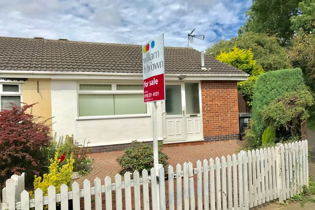Thumbnail Semi-detached bungalow for sale in Farrier Lane, Leicester