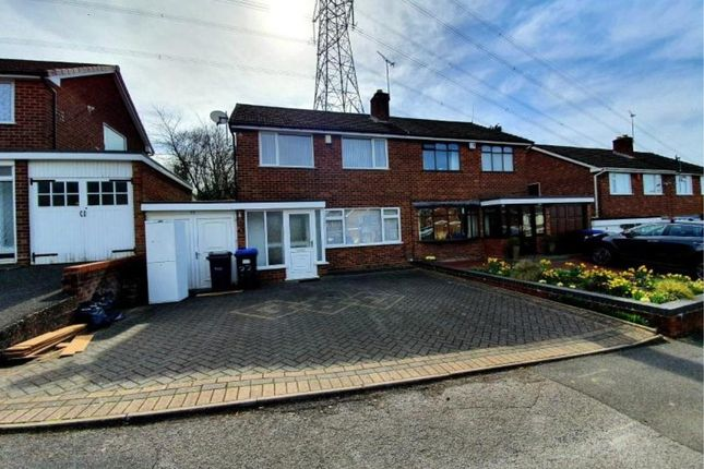 Thumbnail Semi-detached house to rent in Sycamore Road, Great Barr, Birmingham