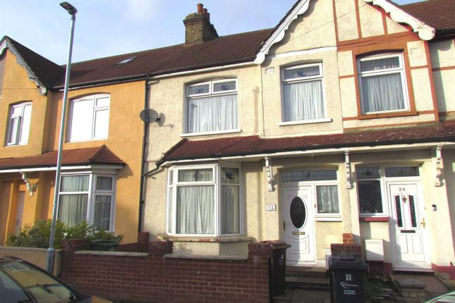 Thumbnail Terraced house to rent in Morden Road, Chadwell Heath, Romford