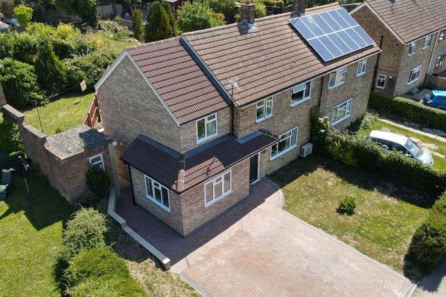 Thumbnail Semi-detached house for sale in Highfields, Saffron Walden