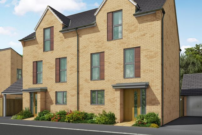 """Thumbnail Semi-detached house for sale in """"The Foxton 2"""" at Heron Road, Northstowe, Cambridge"""