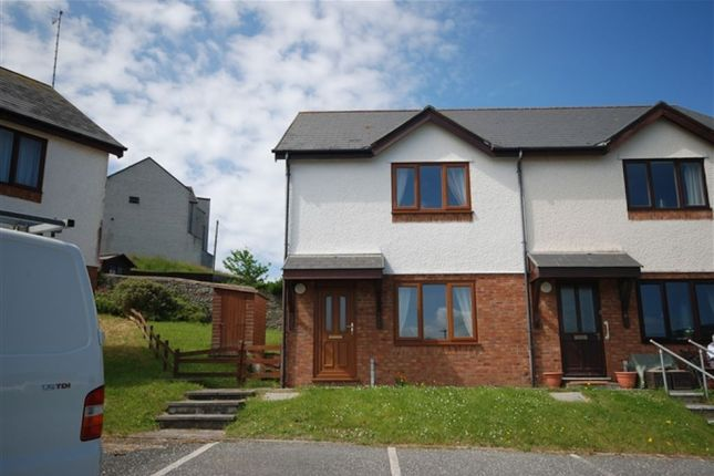 Thumbnail End terrace house to rent in Glanhafan, Trefechan, Aberystwyth
