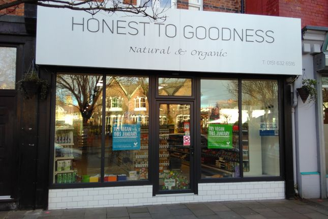 Thumbnail Retail premises for sale in Wirral, Hoylake
