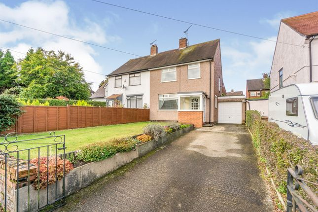 Thumbnail Semi-detached house for sale in Downham Road South, Heswall, Wirral