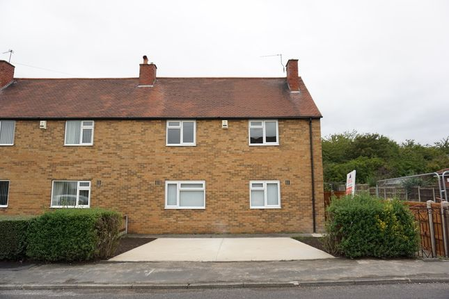 Thumbnail 3 bed semi-detached house to rent in Lodge Road, Carcroft, Doncaster