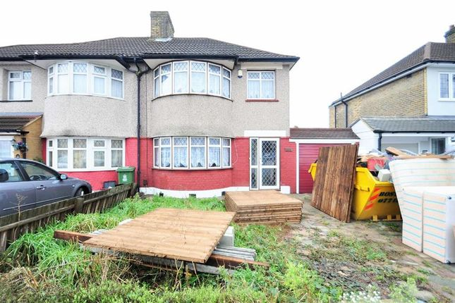 Thumbnail Semi-detached house to rent in Okehampton Crescent, Welling, Kent