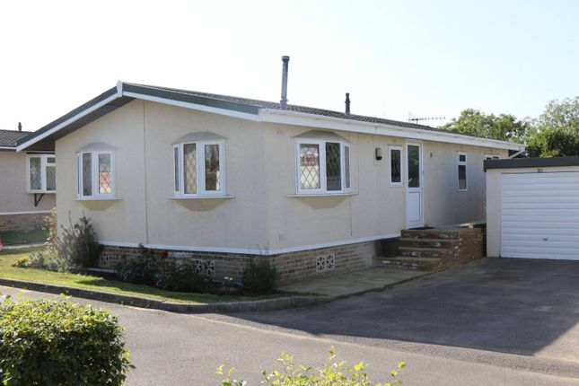 Thumbnail Mobile/park home for sale in Cudworth Park, Burnt Oak Lane, Newdigate, Dorking