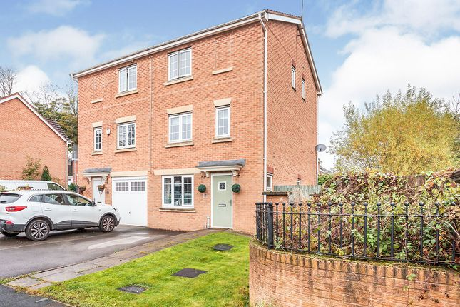Thumbnail Semi-detached house for sale in Bridon Way, Cleckheaton, West Yorkshire