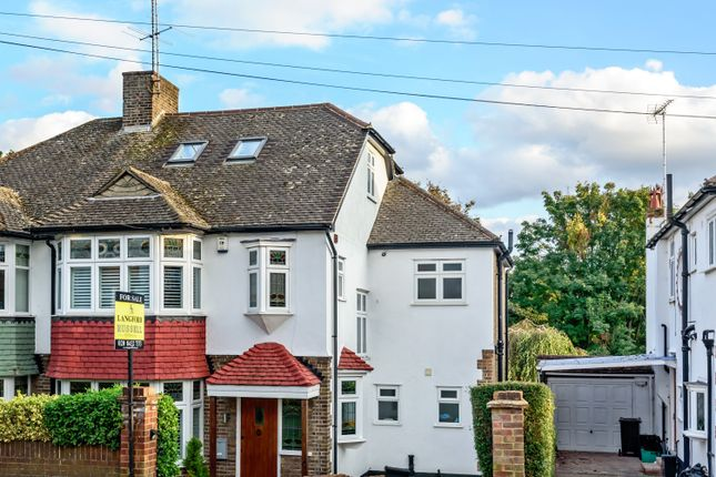 Thumbnail Semi-detached house for sale in Wood Lodge Lane, West Wickham