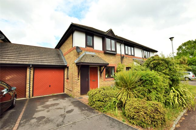 Thumbnail End terrace house to rent in Swithin Chase, Warfield, Bracknell, Berkshire
