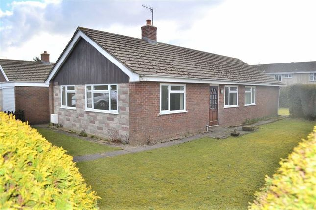 Thumbnail Detached bungalow to rent in Minffordd, Hazlemere Estate, Rhayader, Powys