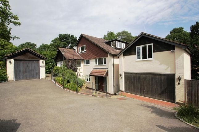 Thumbnail Detached house to rent in Pond Road, Hook Heath, Woking