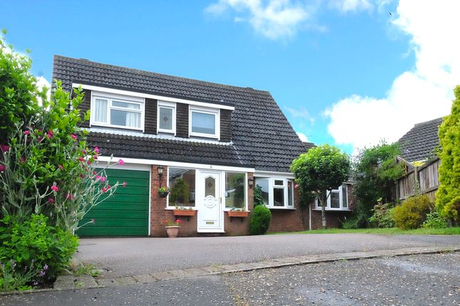 Thumbnail Detached house for sale in Taverham Chase, Taverham, Norwich