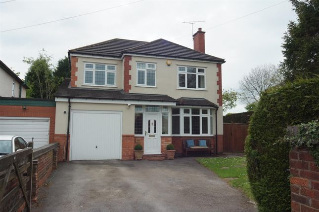 Thumbnail Detached house for sale in Hawkes Mill Lane, Allesley, Coventry