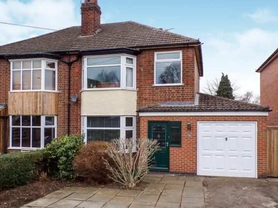 Front of Fosse Way, Syston, Leicester, Leicestershire LE7